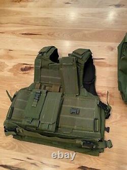 Idf Forces De Défense Israéliennes Armée Marom Dolphin Tactique Modulaire Veste Avec 2 Packs