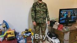 Idf Idf Paratroops D'origine Camo Uniforme Et Le Chapeau De 60 Tous Marqués Wow