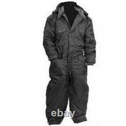 Idf Israël Black Cold Weather Hermonit Winter Gear Coverall Eau / Épreuve Du Vent