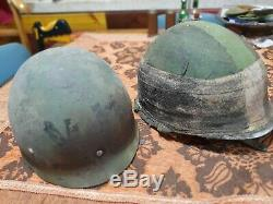Idf Israël Casque Rare Guerre Kippur Yom Daté Doublure 1970 Endommagé Wow