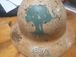 Idf Israël Très Tôt 1948-1954 Idf Casque Brigade Golani 12 Milliards Barakwow