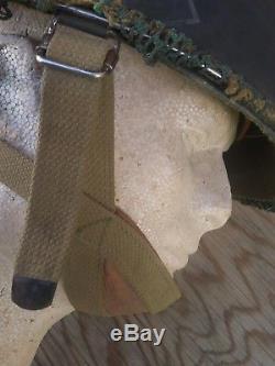 Idf Israélien M-1 Parachutiste Commando Casque Complet Golani Yom Kippour Guerre De 6 Jours