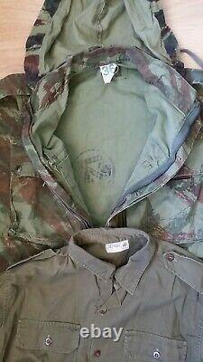 Idf Israélien Zahal Israël Six Jours Guerre Para Camo Lizard Tap 47/56 Pantalon Shirt Tap
