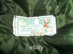 Idf Veste Militaire D'hiver Windproof Parka Dubon Zahal Israélien Avec Capuche Tir