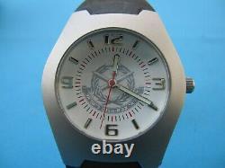 Israel Idf Army Top Brass Wrist Watch Avec Zahal Sign & Box! À L'heure. Nouveau. Unique