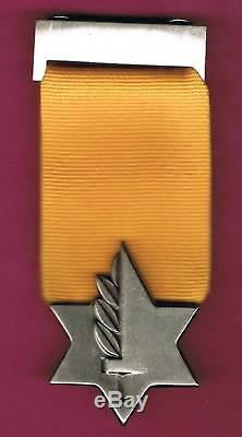 Israel Idf Véritable Médaille De Valeur Le Plus Haut Mil. Décoration 100% Authentique