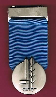 Israel Idf Vrai Médaille Du Service Distingué 3ème Plus Haut 100% Authentique