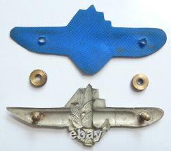 Israel Navy Submarine Crew Fighter Ancien Insigne Idf Des Années 1960