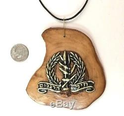 Israélien Idf Israel Defense Force Badge Heil Raglim Infantry Corps Pendentif P63