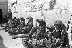 Israélienne D'origine Britannique Seconde Guerre Mondiale Modifié Parachutiste Casque Idf
