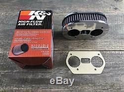 K & N Luftfilterkasten Luftfilter 40,44,48 Idf 45mm 56-1160 Kompatibel Mit Weber