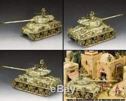King & Country Forces De Défense Israéliennes Idf002 M51 Super Sherman Israélien Set Réservoir