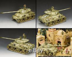King & Country Forces De Défense Israéliennes Idf002 M51 Super Sherman Isreali Set Réservoir