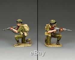 King & Country Forces De Défense Israéliennes Idf014 Israélienne Para Genoux Et Déterminer L'objectif