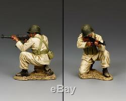 King & Country Forces De Défense Israéliennes Idf022 Syrienne / Égyptienne Soldat Ak47 Sib