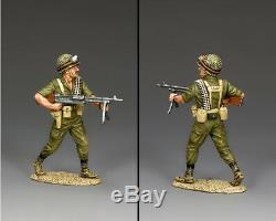 King & Country Israélienne Des Forces De Défense Israélienne Idf010 Para Avec Gpmg Sib