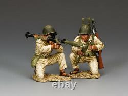 King & Country Soldats Idf023 Défense Israélienne Force De L'équipe Égyptienne / Syrienne Rpg7