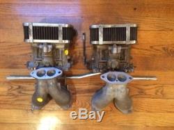Kit Carburateur Weber Vw Bug & Type 1 Dual 40 Idf Adapté Pour Vw Refroidi Par Air