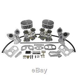 Kit De Carburateur Double Double Aa 44 Mm, Type Vw, Copie Idf
