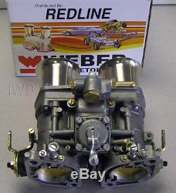 Kit De Carburateur Weber Porsche 914 Vw Bus, Type 2, Type 4, Kit Dual 44idf Weber