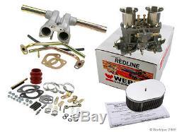 Kit De Carburateur Weber Vw Bug & Type 1 Avec 44 Idf À L'écoute Pour Vw K1316