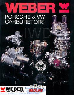 Kit De Carburation Weber Vw Bug & Type 1 Avec Single 44 Idf Réglé Pour Vw K1316
