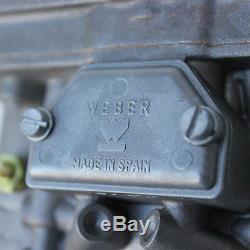 Kit De Carbuteur Double 40 Idf Weber, Vw Bus, Vw Type 2, Vw Type 4 Et Porsche 914