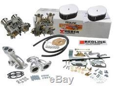Kit De Conversion De Carburateur Weber Pour Vw Bug & Type 1 Dual 44 Idf