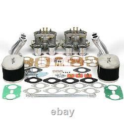 Kit De Conversion De Carbure Pour Liaison Vw Type 4 Fajs Hpmx Weber Empi Fdi Dual 48mm T4