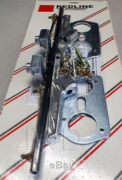 Kit De Liaison Pour Deux Carburateurs Weber Idf À Installer Sur Un Bug Vw, Type1 1600cc Dual-port