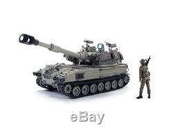 Kit De Modèle Militaire Pour Obusier Automoteur 1/10 M109a2 Doher Idf Afv Af35293