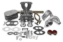 Kit Double Idf Weber De Vw Type1 De Kit De Carburateur De Double Port De 40mm Avec Le Bâti D'extrémité