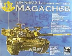 Kit Militaire Modèle Afv Club 135 35309 Idf M60a1 Magach 6b