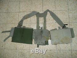 L'armée Israélienne Lace Idf Éphod Gilet Zahal Première Génération Utilisé Guerre Du Liban 1982