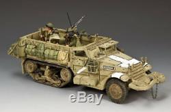 L'armée Israélienne M3 Halftrack Idf020 King & Country Six Jours Guerre Des Forces De Défense