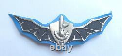 La Marine De L'armée Israélienne Scelle Shayetet 13 Badge First Type Idf Numéroté #456 Années 1960