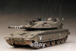 Lauréat Du Prix Construit 1/35 Merkava Mk. IV M / Mk4. Meil Ruach + Trophy Aps + Pe