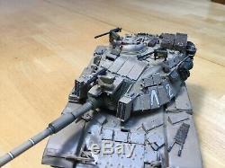 Le Blazer D'idf M60a1 À L'échelle 1/35 De L'académie Avec Des Carreaux D'armure Réactifs
