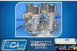 Le Kit De Carburateur Genuine Twin 44 Weber Idf Neuf Convient À La Tige / Course V8, Groupe C