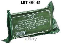 Lot 45 Idf Scellé Par Traumatisme Armée Israélienne D'urgence Sur Le Terrain De Bandage Militaire Militaire Ifak 2027