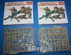 Lot De 4 1/35 De L'armée De Défense Israélienne Set Academie D'infanterie Moderne 1368 Scellé