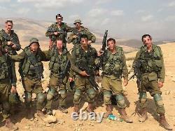 Lot En Vrac De 20 KG / 44 Livres Idf Zahal Articles De L'armée Israélienne. Authentique. Grande Valeur