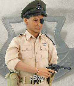 Maître De Passe-temps Hf0004 1/6 Le Chef D'état-major De La Force De Défense Israélienne Moshe Dayan Mib