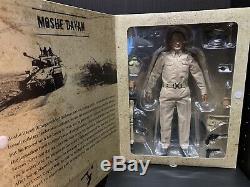 Maître De Passe-temps Hf0004 Le Chef D'état-major Des Forces De Défense Israéliennes, Moshe Dayan, 1/6, Figure