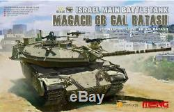 Meng 135 Idf Magach 6b Gal Kit En Plastique Batash Maquette # Ts040