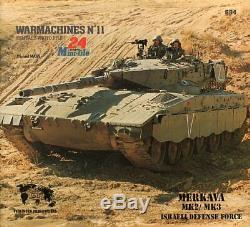 Merkava Mk2 / Mk3 Ouvrage De Référence N ° 11 De La Force De Défense Israélienne Verlinden Warmachines
