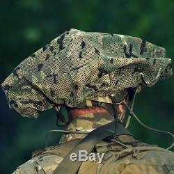 Mitznefet Actuel De L'armée Israélienne Tsahal Tactique Camo Casque Forme Briseur Couverture Net