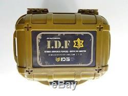 Montre Adi Tactique / Militaire Pour Homme 229, Logo Du Forces De Défense Israéliennes Idf, Quartz