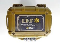 Montre Étanche De Plongée Militaire Ids Tactical Men Avec Symbole De L'unité Idf -paratroopers