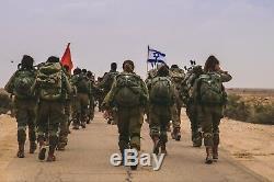 Montre Militaire / Tactique Pour Hommes Adi 2850, Logo Mossad, Acier Inoxydable, Analogique